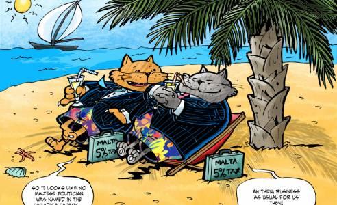 MaltaToday Cartoon: 12 November 2017