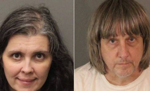 California police discover 13 'emaciated' siblings imprisoned in family home
