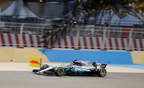 Valtteri Bottas takes his first Formula One pole position