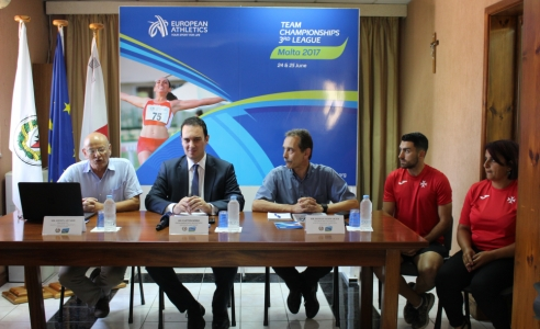 Malta is ready for the European Athletics Championships Third League