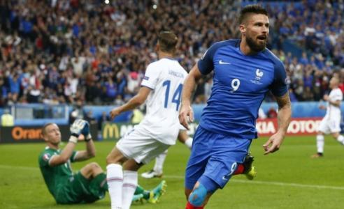 France demolish Iceland to reach semi-finals