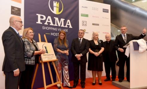 Pama shopping centre inaugurated