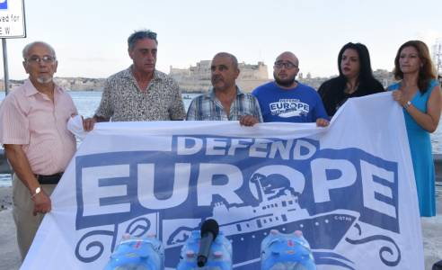 [WATCH] Maltese government guilty of 'inverse racism' against Defend Europe crew - Patrijotti