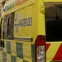 Elderly man seriously injured after falling down stairs