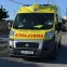 Man suffers grievous injuries as car crash pushes stationary vehicle onto him