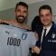 Italy's Gianluigi Buffon registers 1,000th match in 2-0 win over Albania