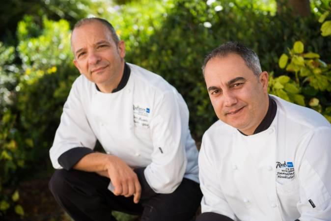 James Bartolo (L) and Jimmy Aquilina (R)