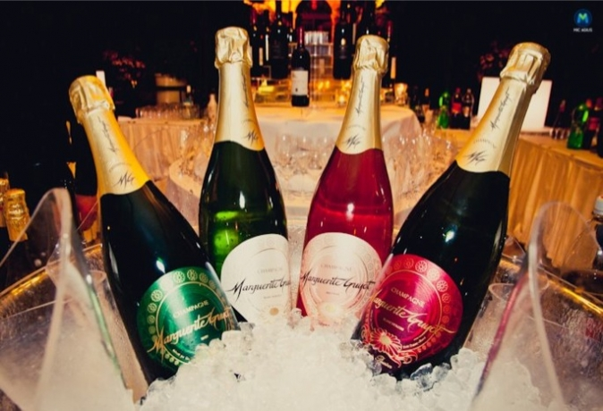 Marguerite Guyot champagne is being launched at next Sunday's Aperitivo Night, at Palazzo Parisio from 20:00 – 23:30