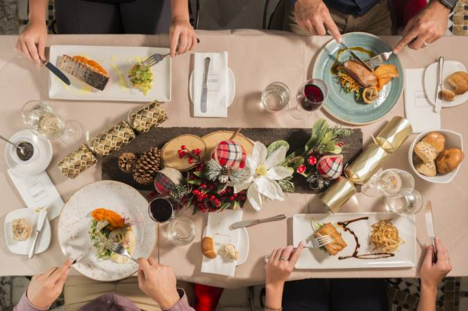 Christmas Lunch at Vinotheque Bistro