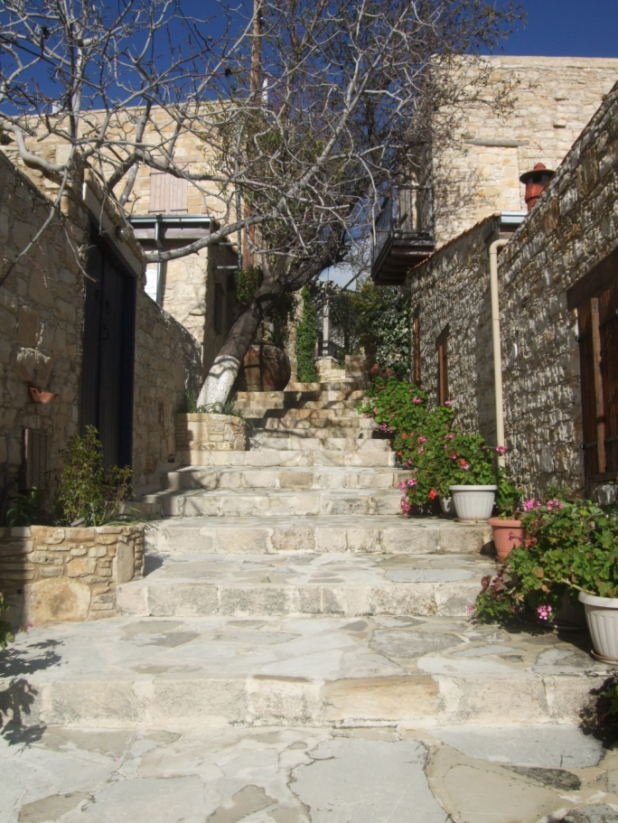 With its narrow cobbled streets and restored houses, Lofou is a delightful agrotourism getaway, situated on the mountains