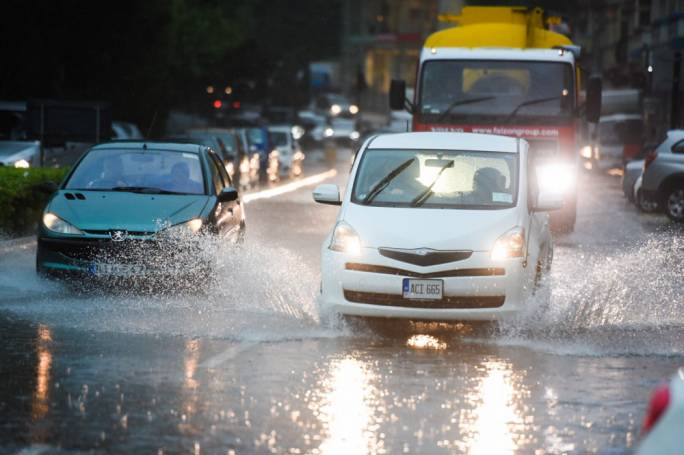 This morning's downpour (Photo: James Bianchi/Media Today)