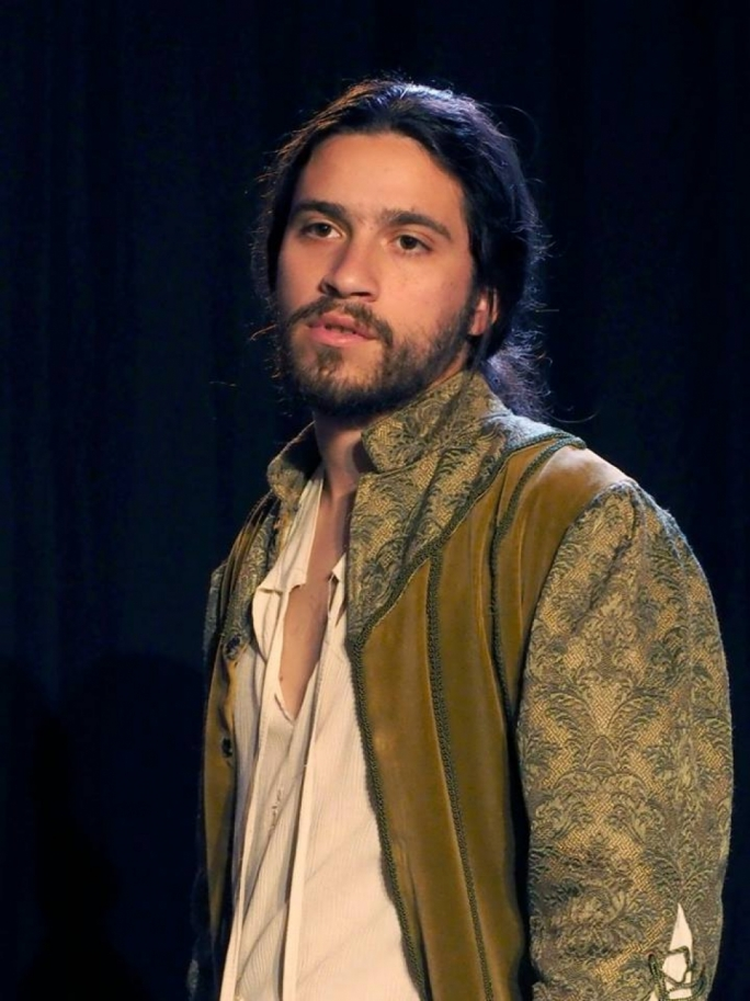 Actor and director Philip Leone Ganado in MADC's production Romeo and Juliet last summer
