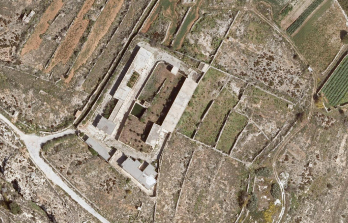 A site of an abandoned explosives depot in Dingli now earmarked for a tourist resort and spa