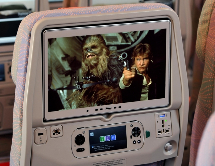 Emirates hosts on-board Star Wars marathon