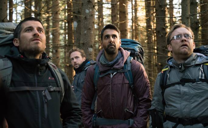 From left: Robert James-Collier, Rafe Spall, Arsher Ali and Sam Troughton in the unoriginal but perfectly serviceable slice of folk horror