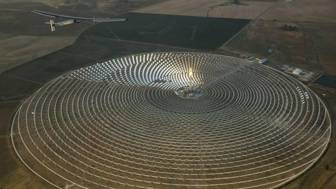 Gemasolar solar plant in Spain