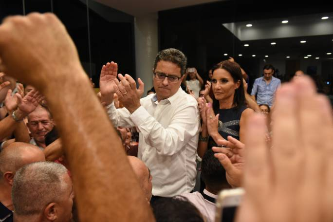 Folk-hero? Adrian Delia has been keen on trying to capture an anti-establishment spirit inside the PN