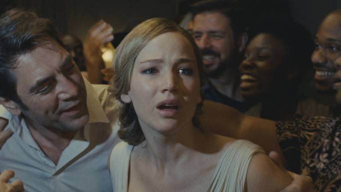 Hell at home: Javier Bardem and Jennifer Lawrence lead the way in this cinematic maelstrom orchestrated by Darren Aronofsky