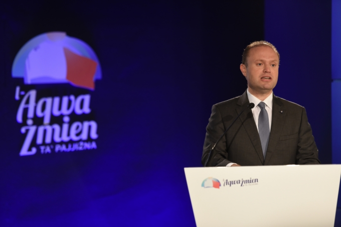Prime Minister and Labour Party leader Joseph Muscat (File photo)