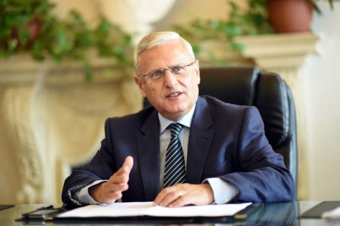 Malta's nominee to the European Court of Auditors Leo Brincat • Photo: Ray Attard