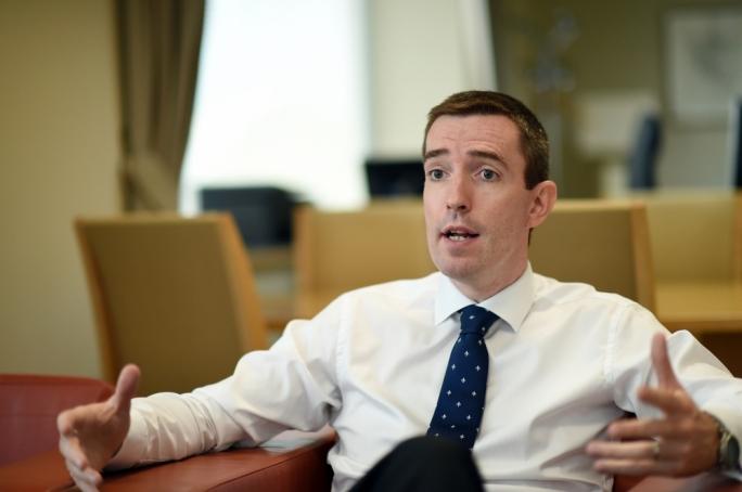 British High Commissioner to Malta, Rob Luke. Photo: Ray Attard