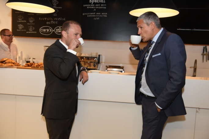 More Swedish baristas! At Bettson with CEO Ulrik Bengtsson: Muscat's challenge is how to ensure the economy remains attractive to foreigners. His model risks making Malta more dependent on attracting foreign labour, and in turn on volatile industries like remote gaming and construction