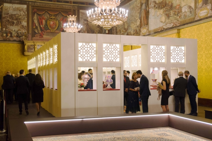 The Majlis – Cultures In Dialogue exhibition open