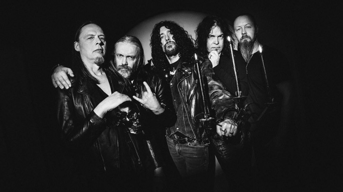 Four core members of the Swedish band, Candlemass, from the 80s, are still part of the band today