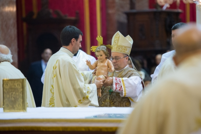 Fewer than a third of the Maltese probably do not attend mass on Christmas day
