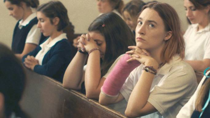 Quiet triumph: Irish actress Saoirse Ronan pulls off a subtle but masterful performance in Greta Gerwig's directorial debut