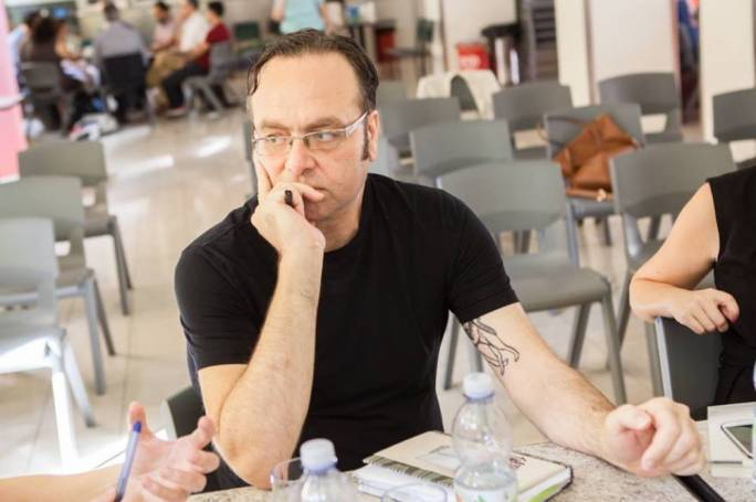 Artist-curator Pierre Portelli