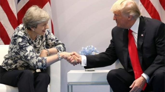 US President Donald Trump 'to visit United Kingdom  in 2018'