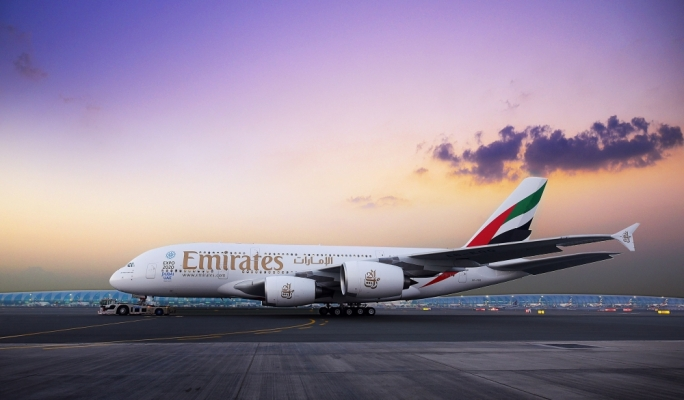 Over 220,000 passengers have flown Emirates' two-class A380