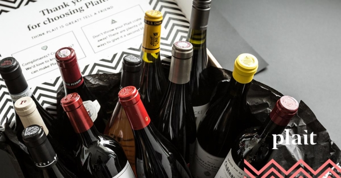 Wine-lovers can choose from a monthly subscription of one-time gift