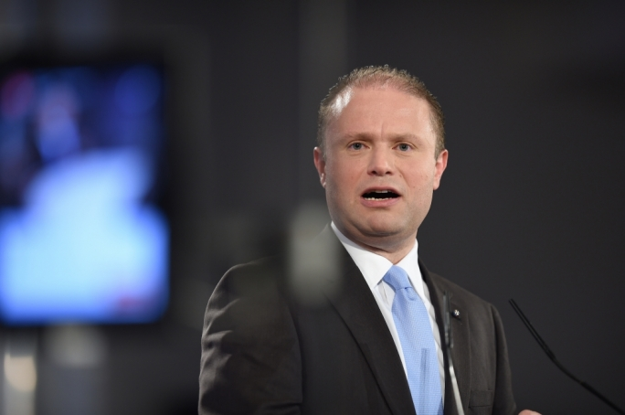 File photo: Prime Minister Joseph Muscat (Photo by Ray Attard)