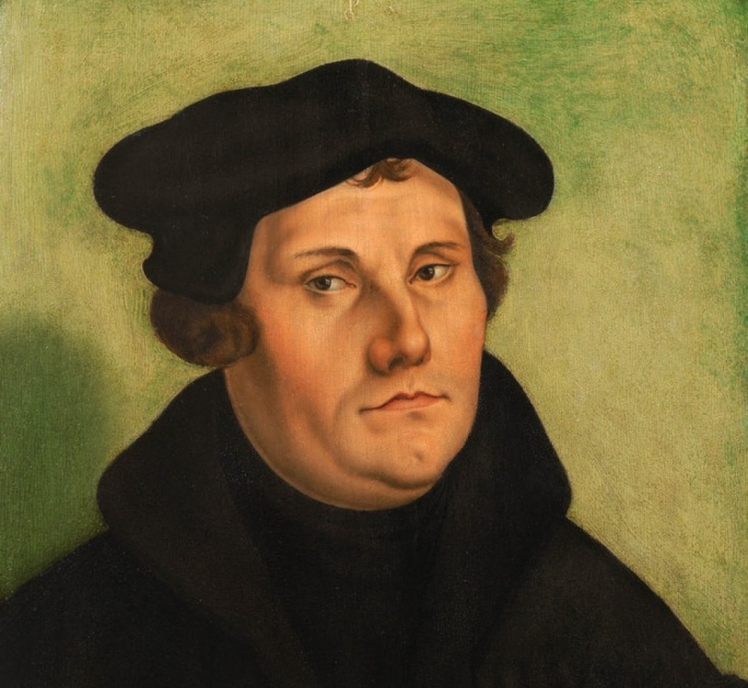 Former German Catholic friar Martin Luther was famously excommunicated as a heretic by Pope Leo X by Papal bull in 1520