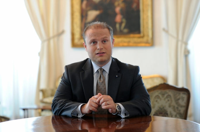 Joseph Muscat. Photo: Ray Attard