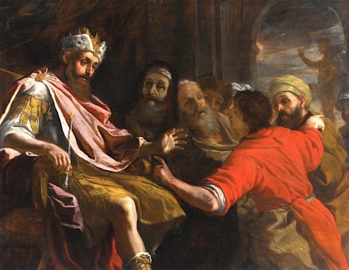 Mattia Preti's 'Daniel Interpreting Nebuchadnezzar's Dream' was bought for a staggering €371,233, outstripping Heritage Malta's own acquisition spend