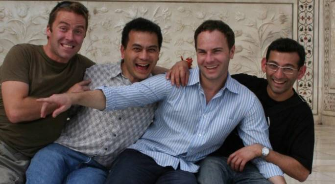 Shazam Founders: Philip Inghelbrecht (left), Avery Wang, Chris Barton, Dhiraj Mukherjee (Photo: Medium)
