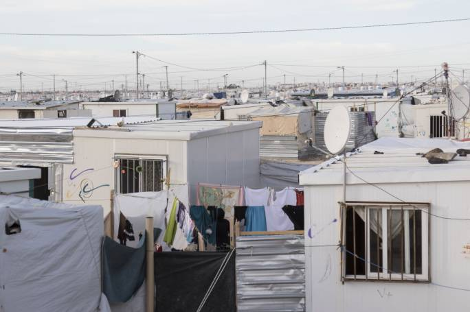 The camp was meant as a temporary solution to host refugees who would soon go back to their homes in Syria