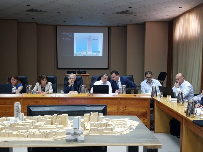 The PA board met to deliberate on the Mriehel and Townsquare high-rise projects