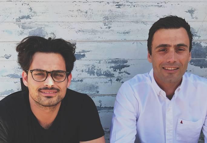 Founders Benji Borg and Zak Borg
