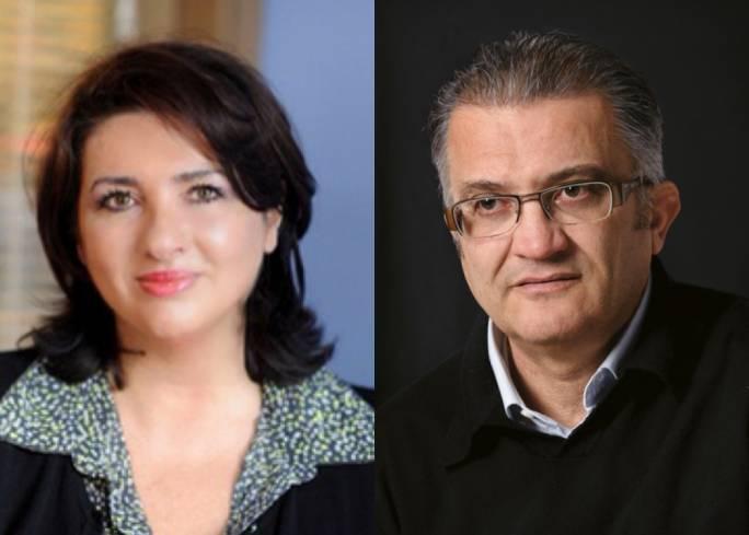 Minister Helena Dalli and her husband Patrick Dalli