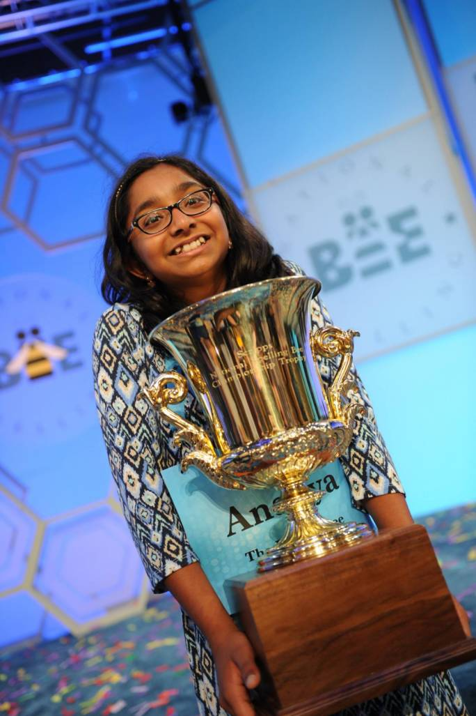 Ananya Vinay became the Scripps National Spelling Bee champ in 2017