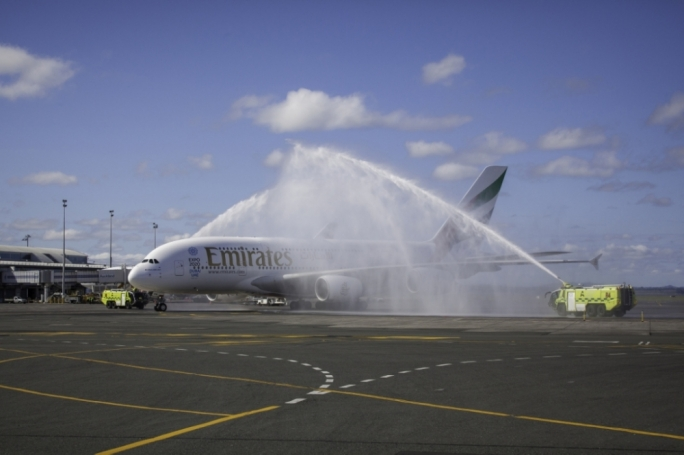 Emirates launches milestone Dubai-Auckland non-stop route