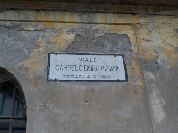 Carmelo Borg Pisani has remained a revered figure in Italian fascist lore, with several streets named after him in different towns