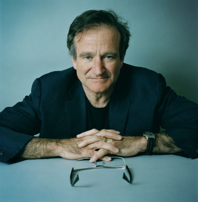 Robin Williams, comedian and actor