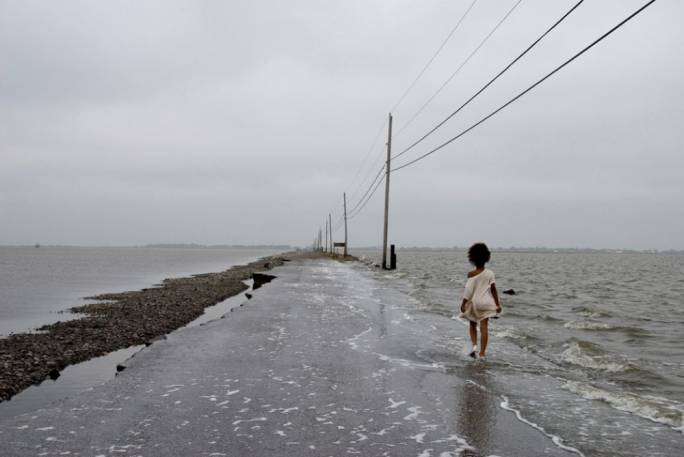 The US government is spending US$48 million to relocate residents of Isle de Jean Charles, Louisiana, because their land is sinking