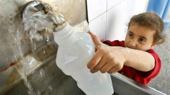 The deal increases the amount of water that the PA can buy from Israel, but does not increase Palestinian access to water or infrastructure development (Photo: Reuters)