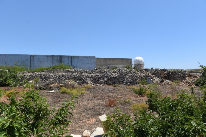 The explosives factory in Dingli